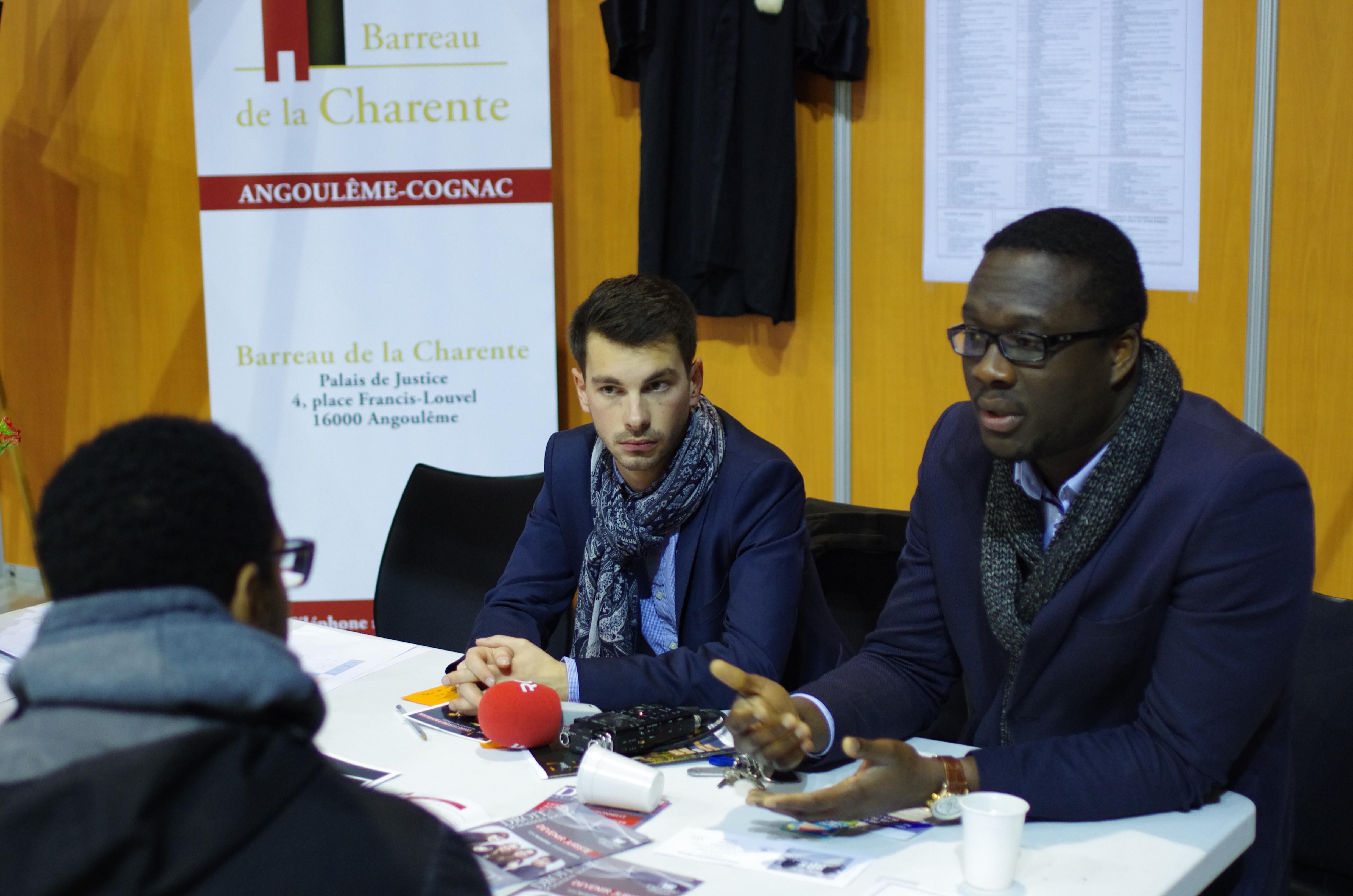 Les avocat du barreau de la Charente présents au FOFE à Angoulême